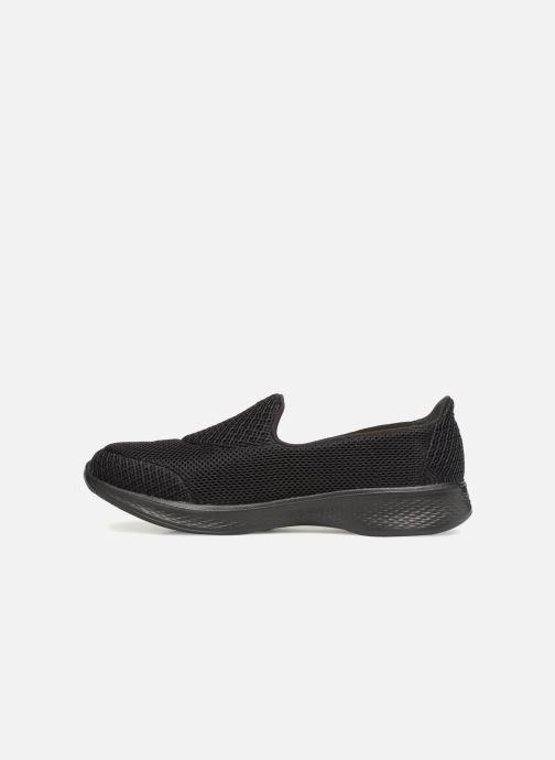 Sneakers Skechers Go Walk 4 Propel Zwart voorkant