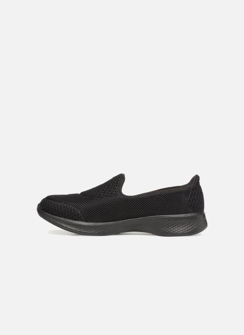 Sneakers Skechers Go Walk 4 Propel Sort se forfra