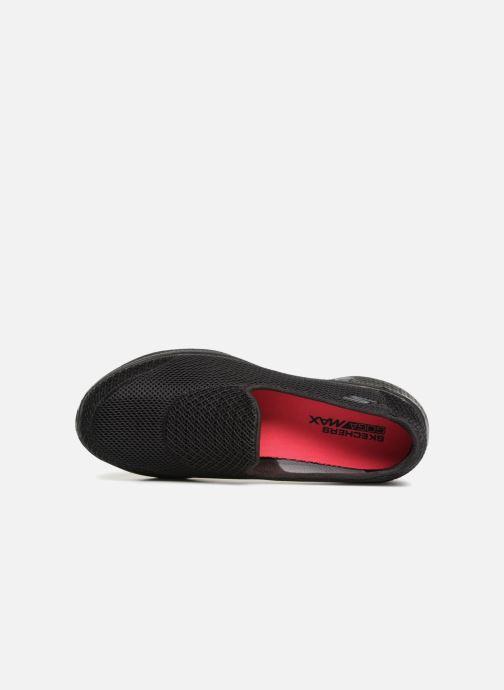 Sneakers Skechers Go Walk 4 Propel Zwart links