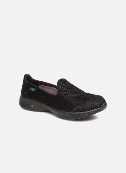 Sneakers Skechers Go Walk 4 Propel Sort detaljeret billede af skoene