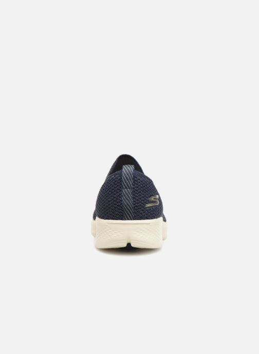 Trainers Skechers Go Walk 4 Propel Blue view from the right