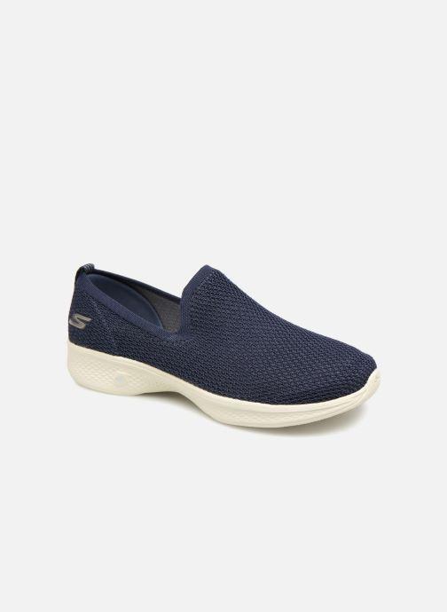 Sneakers Skechers Go Walk 4 Propel Blå detaljerad bild på paret