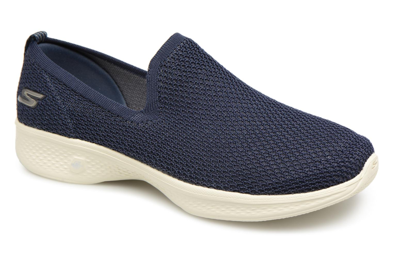 e010e197957 Skechers Go Walk 4 Propel (Bleu) - Baskets chez Sarenza (338241)