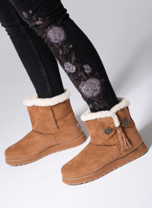Boots en enkellaarsjes Skechers Keepsakes Tribute Zwart onder