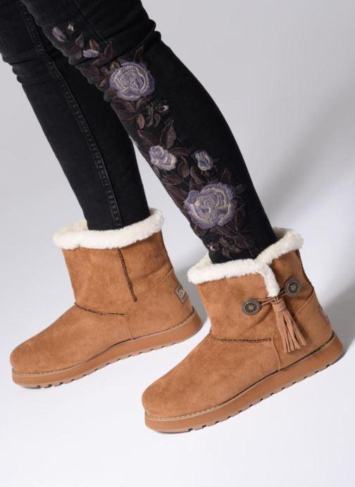 Bottines et boots Skechers Keepsakes Tribute Marron vue bas / vue portée sac