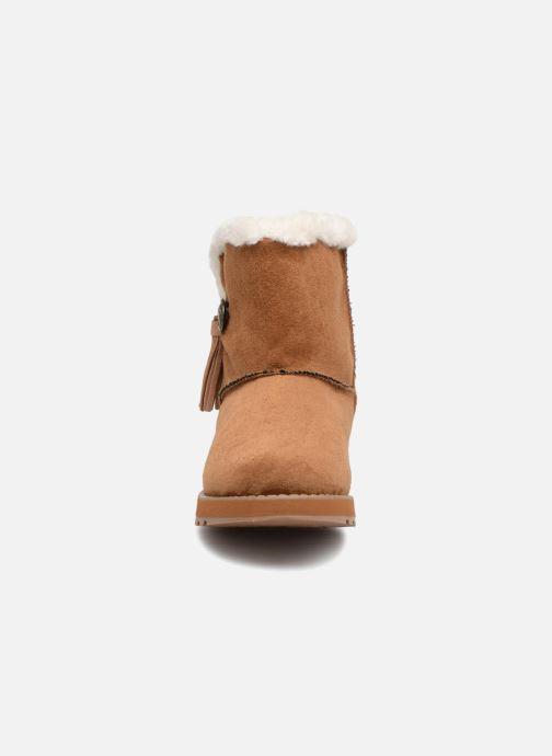 Bottines et boots Skechers Keepsakes Tribute Marron vue portées chaussures