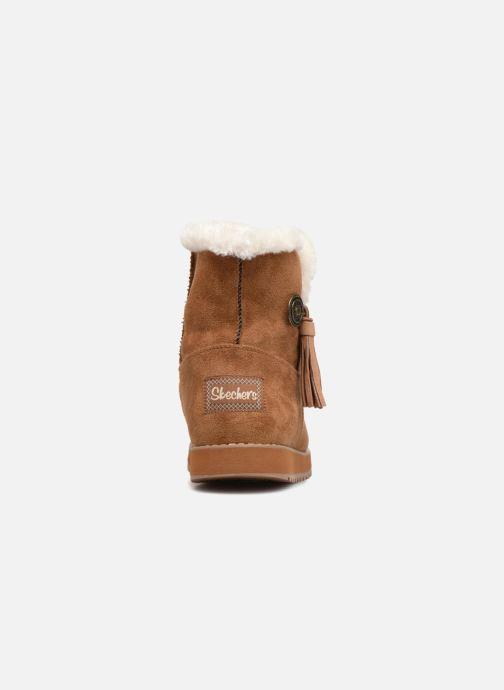 Bottines et boots Skechers Keepsakes Tribute Marron vue droite