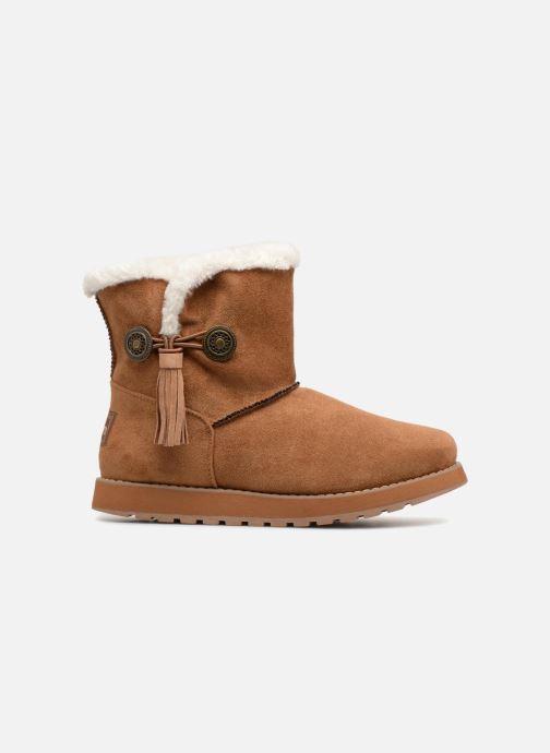 Boots en enkellaarsjes Skechers Keepsakes Tribute Bruin achterkant