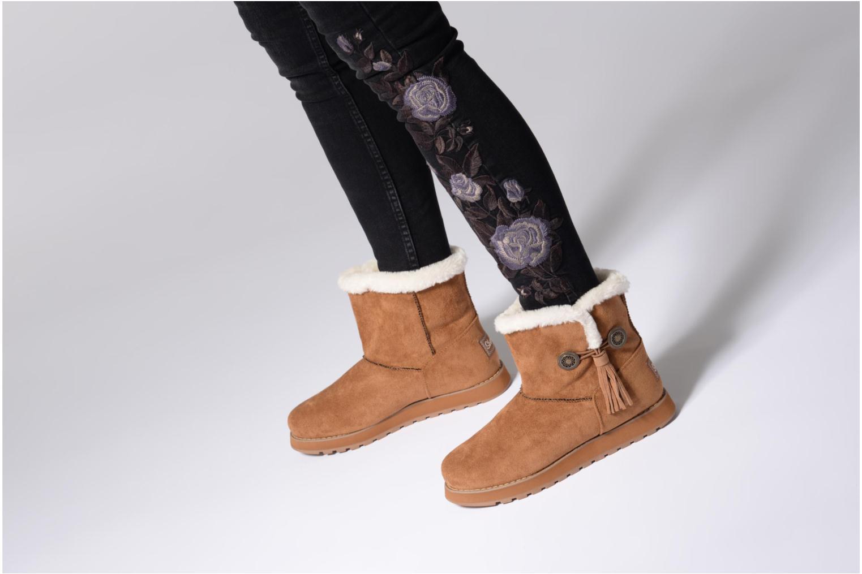 Bottines et boots Skechers Keepsakes Tribute Noir vue bas / vue portée sac