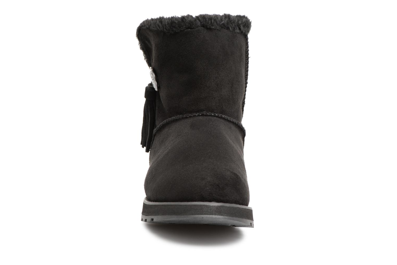 Bottines et boots Skechers Keepsakes Tribute Noir vue portées chaussures