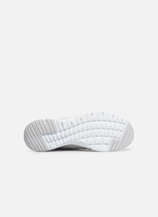 Sportschoenen Skechers Flex Appeal 3.0 Satellites Wit boven
