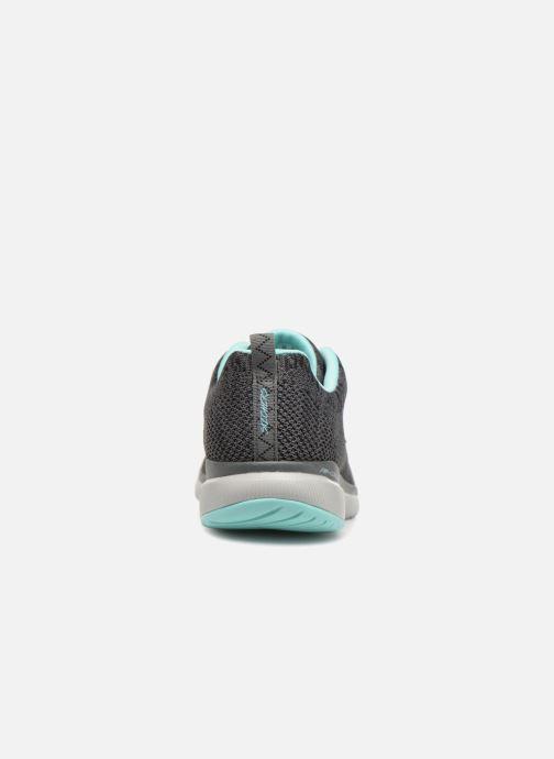 Sportschuhe Skechers Flex Appeal 3.0 grau ansicht von rechts
