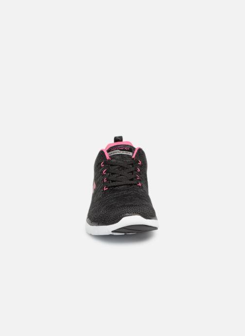 Chaussures de sport Skechers Flex Appeal 3.0 Noir vue portées chaussures