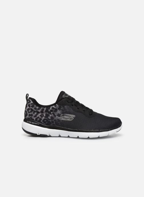Zapatillas de deporte Skechers Flex Appeal 3.0 Negro vistra trasera