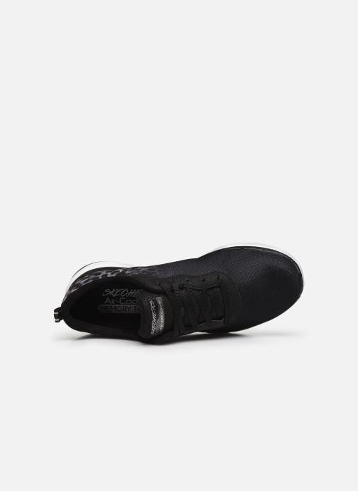 Chaussures de sport Skechers Flex Appeal 3.0 Noir vue gauche