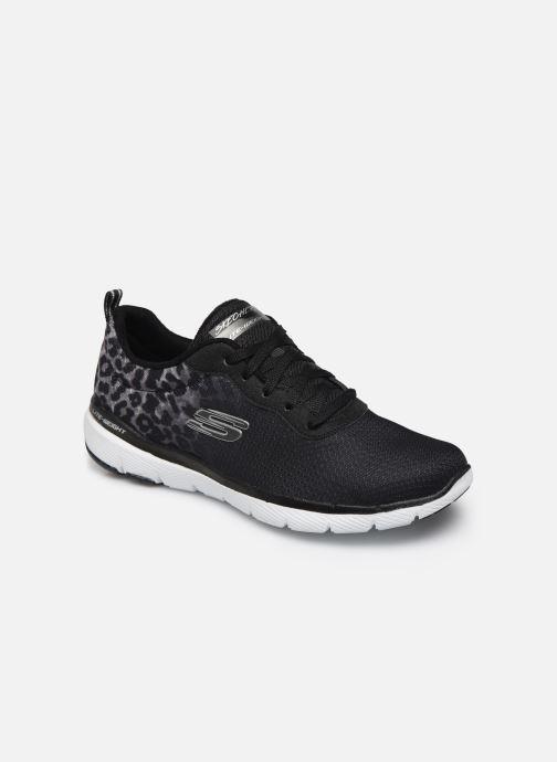 Zapatillas de deporte Skechers Flex Appeal 3.0 Negro vista de detalle / par