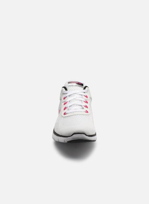 Sportschoenen Skechers Flex Appeal 3.0 Wit model