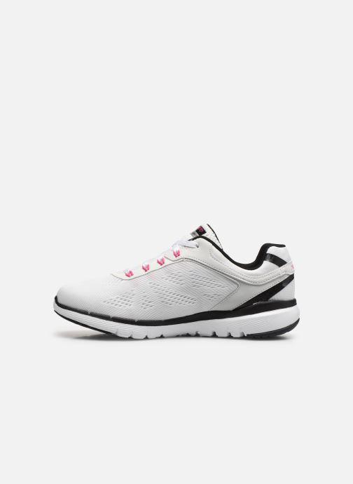 Sportschoenen Skechers Flex Appeal 3.0 Wit voorkant