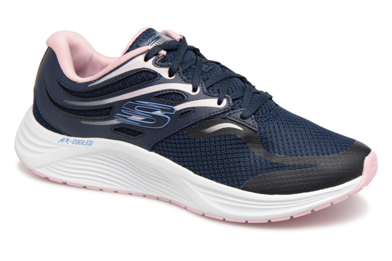 Skechers Skyline (Bleu) - Chaussures de sport en Más cómodo Chaussures femme pas cher homme et femme
