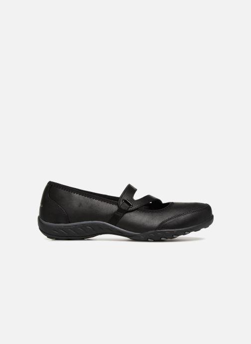 Bailarinas Skechers Breathe-Easy Calmly Negro vistra trasera