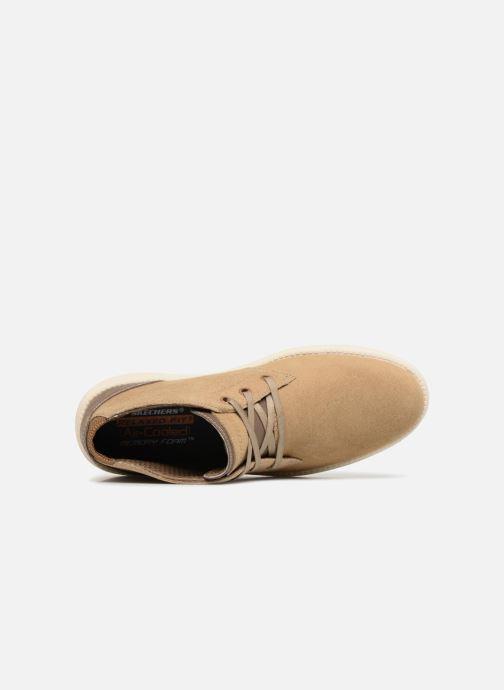 Stiefeletten amp; Status Boots beige Skechers Rolano 338249 CxqwFSPx0