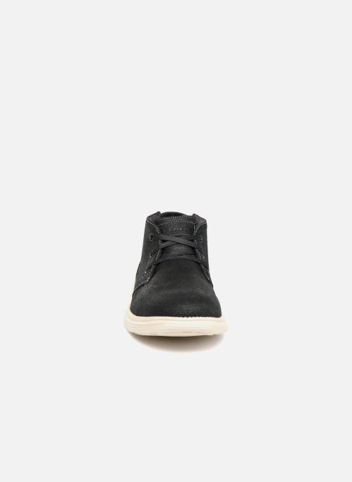 Boots Skechers Status Rolano Svart bild av skorna på