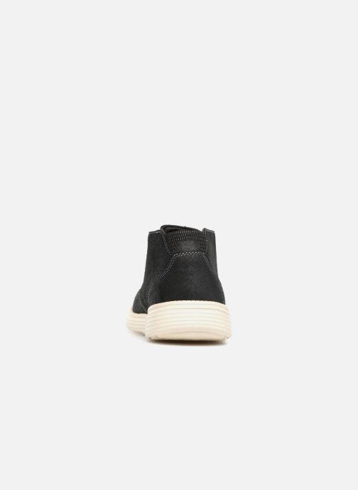 Boots en enkellaarsjes Skechers Status Rolano Zwart rechts