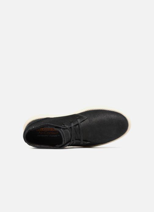 Boots Skechers Status Rolano Svart bild från vänster sidan