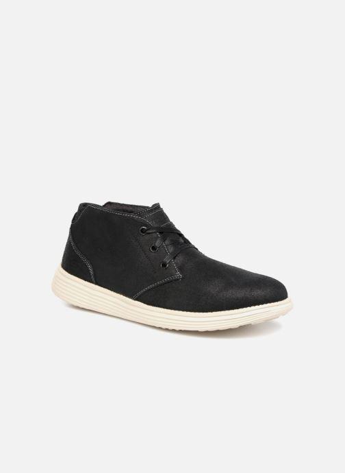 Boots en enkellaarsjes Skechers Status Rolano Zwart detail