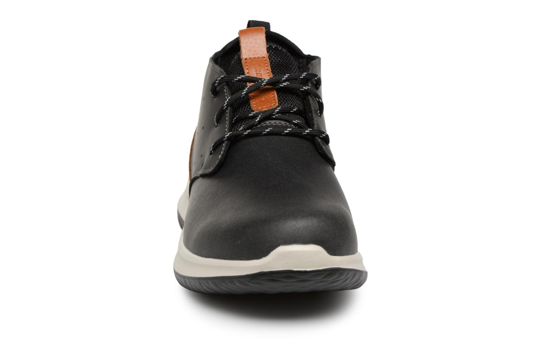 Boots Skechers Delson Clenton Svart bild av skorna på