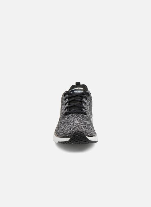 Sportschuhe Skechers Skech-Air Infinity All Aglow schwarz schuhe getragen