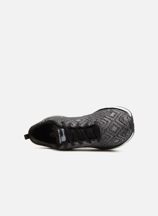 Sportschuhe Skechers Skech-Air Infinity All Aglow schwarz ansicht von links