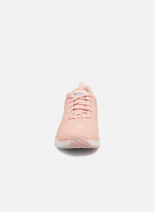 Sportschuhe Skechers Skech-Air Infinity All Aglow rosa schuhe getragen