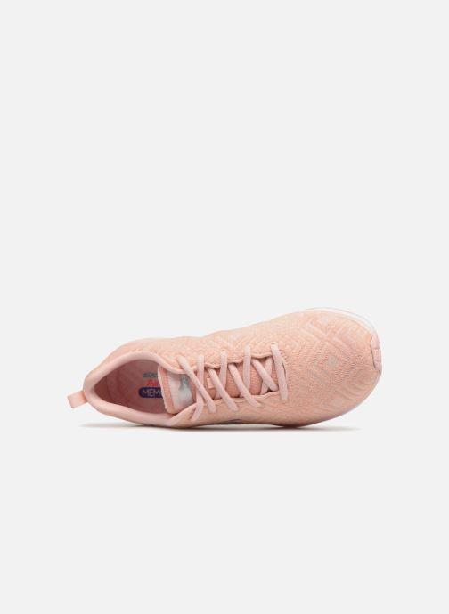 Sportschuhe Skechers Skech-Air Infinity All Aglow rosa ansicht von links