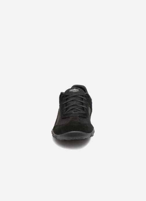 Baskets Skechers Breathe-Easy Simply Sincere Noir vue portées chaussures