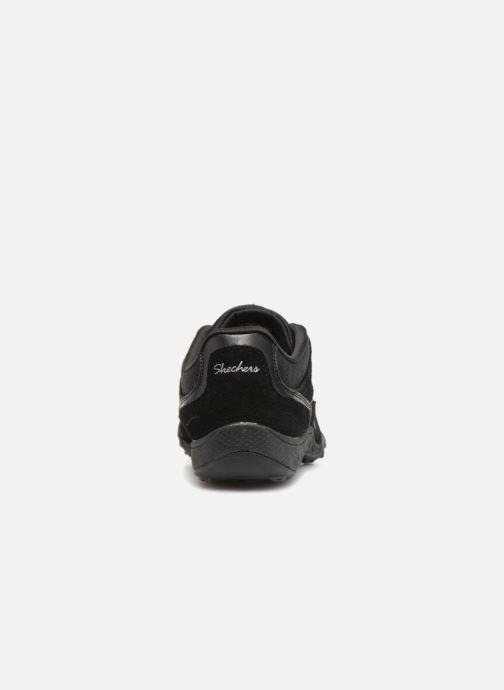 Deportivas Skechers Breathe-Easy Simply Sincere Negro vista lateral derecha