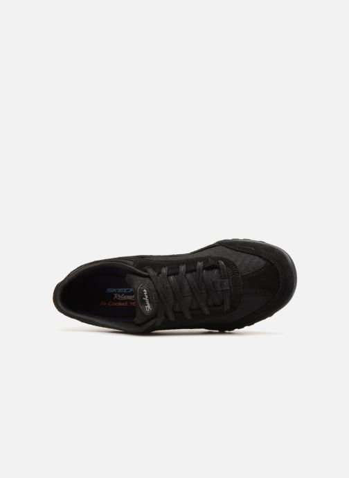 Baskets Skechers Breathe-Easy Simply Sincere Noir vue gauche