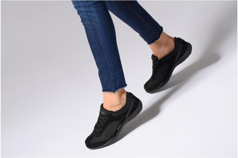 Sneakers Skechers Breathe-Easy Simply Sincere Svart bild från under