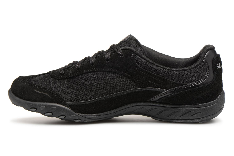 Sneakers Skechers Breathe-Easy Simply Sincere Svart bild från framsidan