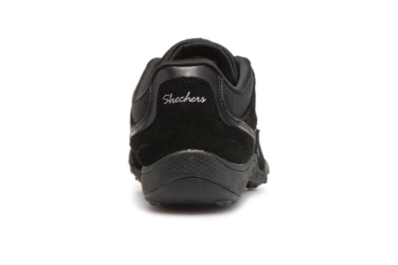 Sneakers Skechers Breathe-Easy Simply Sincere Svart Bild från höger sidan