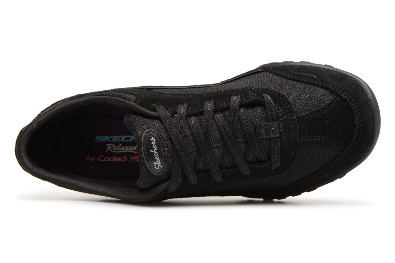 Sneakers Skechers Breathe-Easy Simply Sincere Svart bild från vänster sidan