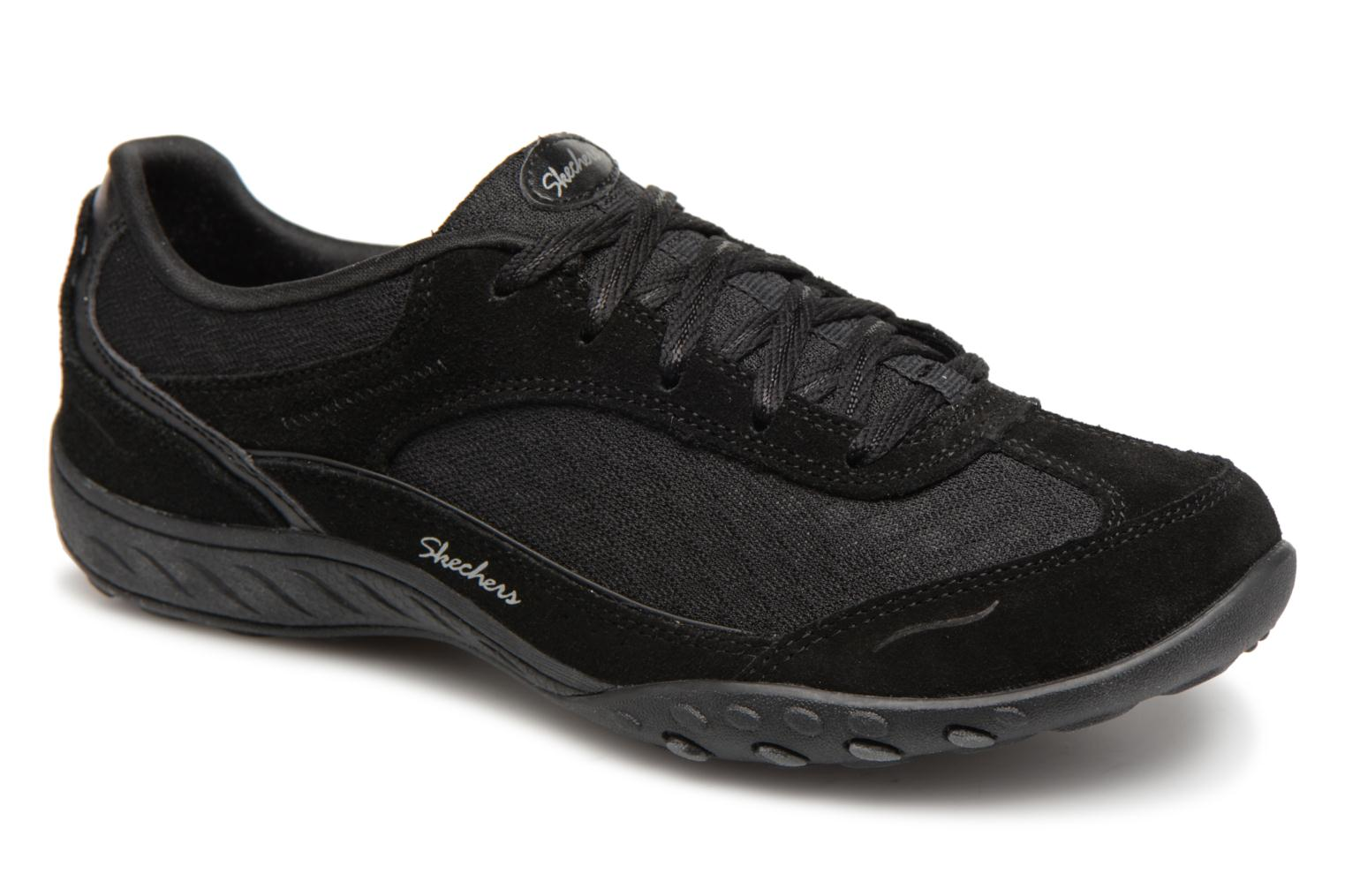 Sneakers Skechers Breathe-Easy Simply Sincere Svart detaljerad bild på paret