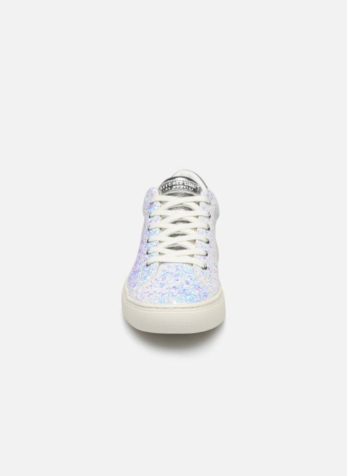 Trainers Skechers Side Street Awesome Sauce White model view