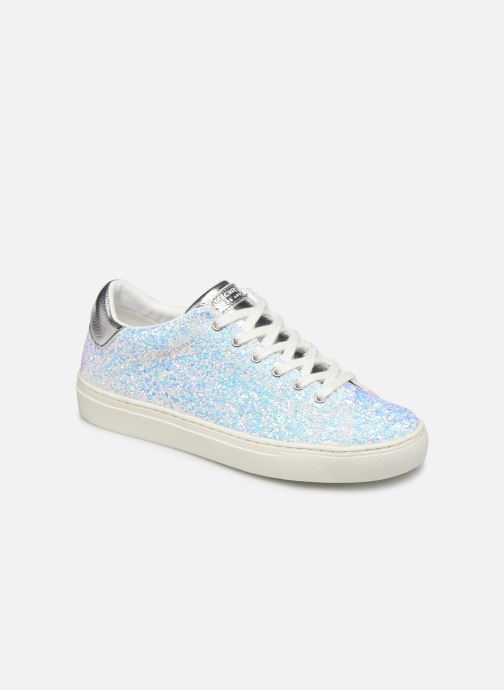 Trainers Skechers Side Street Awesome Sauce White detailed view/ Pair view