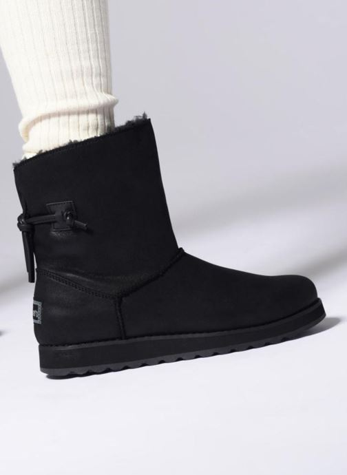 Boots en enkellaarsjes Skechers Keepsakes 2.0 Hearth Grijs onder