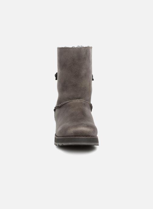 Stiefeletten & Boots Skechers Keepsakes 2.0 Hearth grau schuhe getragen