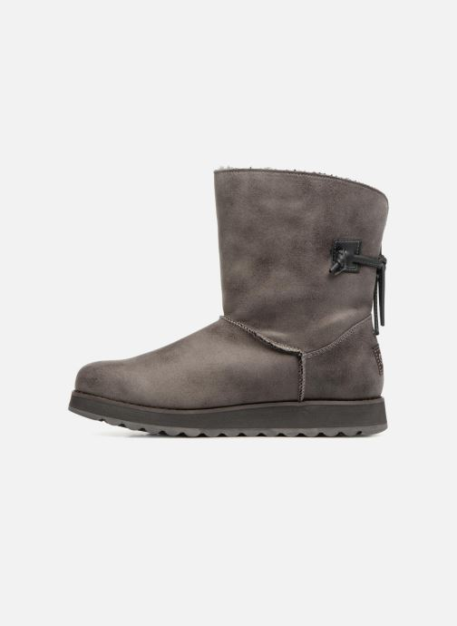 Boots en enkellaarsjes Skechers Keepsakes 2.0 Hearth Grijs voorkant