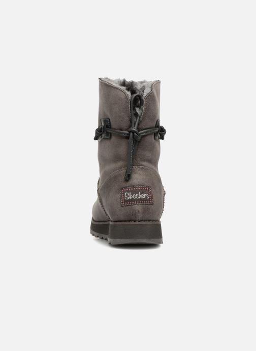 Boots en enkellaarsjes Skechers Keepsakes 2.0 Hearth Grijs rechts