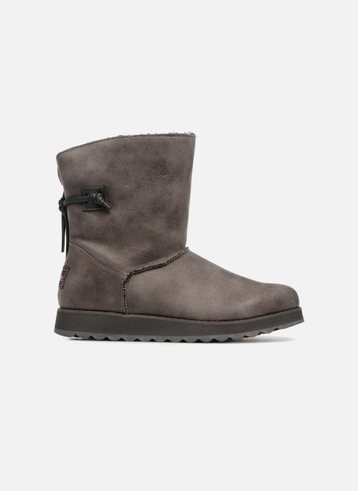 Boots en enkellaarsjes Skechers Keepsakes 2.0 Hearth Grijs achterkant