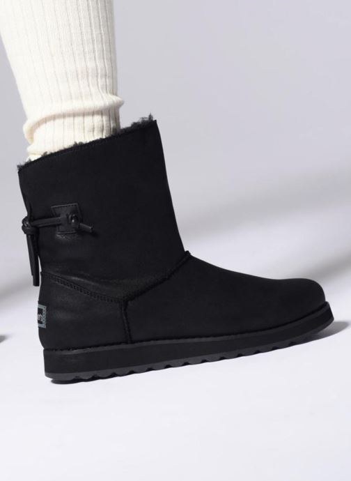 Bottines et boots Skechers Keepsakes 2.0 Hearth Noir vue bas / vue portée sac